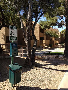 Dog Waste Station Installation Phoenix Maintenance Solutions