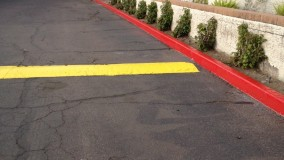 Striping & Curb Painting Phoenix AZ