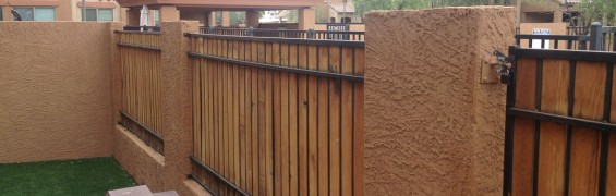 Decorative Fence Installation